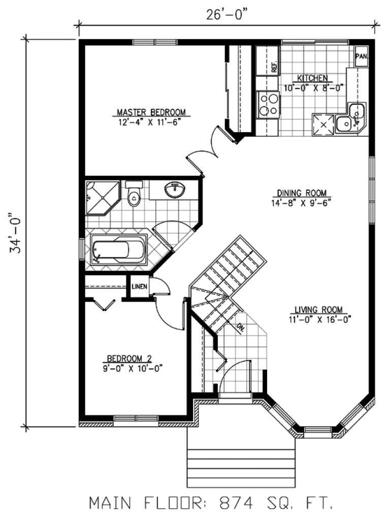 House Plan 1785 00149 Traditional Plan 874 Square Feet 2 Bedrooms 1 Bathroom In 2021 Victorian House Plans Cottage Floor Plans House Plans