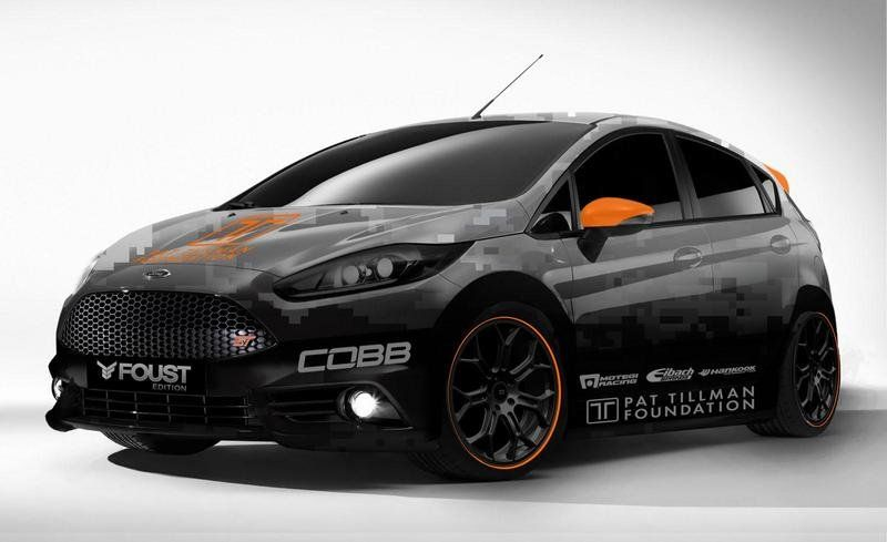 Ford Fiesta St By Cobb Tuning Tanner Foust Racing Ford Fiesta