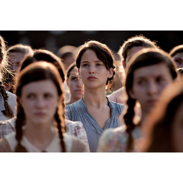 15 Signs You're Just Like Katniss Everdeen! ❤ liked on Polyvore featuring hunger games and people