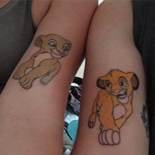 Ces Amoureux Du Roi Lion Tattoos Pinterest Tatouage Tatouage
