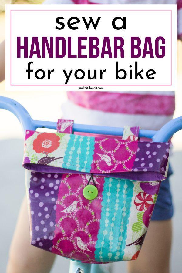 Sew a Handlebar Bag for your Kid's Bike!