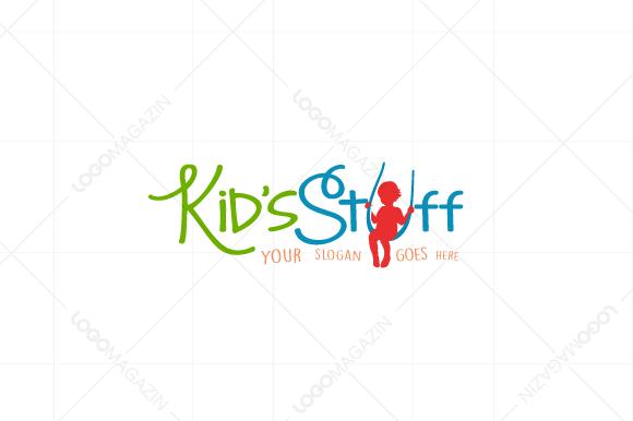 Kid / Child  Logo by LogoMagazin on Creative Market