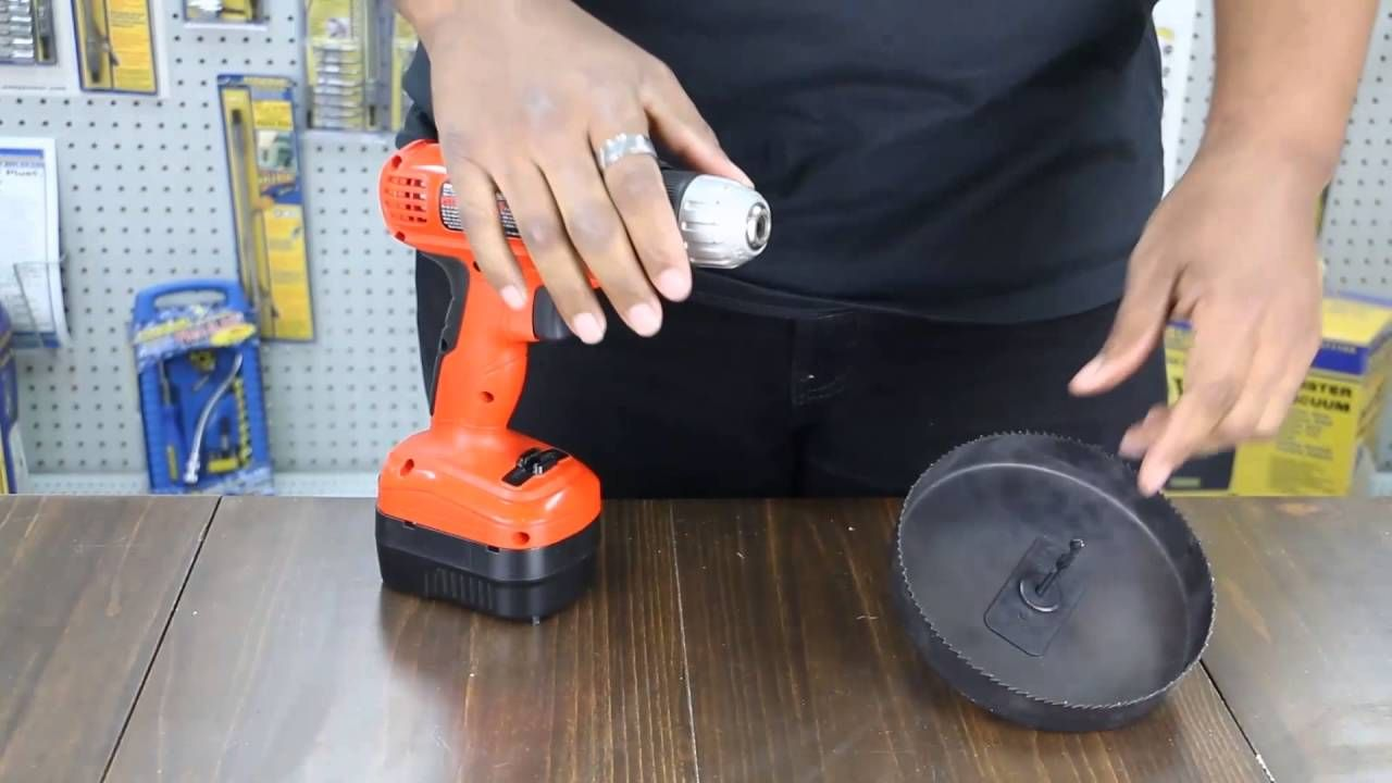 Using A 6 Hole Saw Hole Saw Carpentry Projects Cool Tools