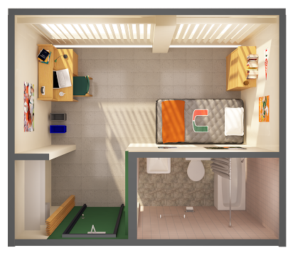 Single Dorm Room Layout Google Search Dorm Room