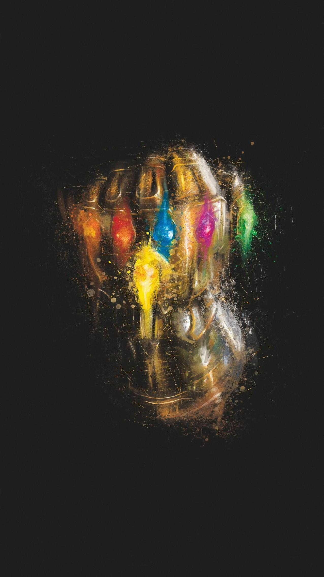 Avengers Endgame (2019) Phone Wallpaper Лев искусство