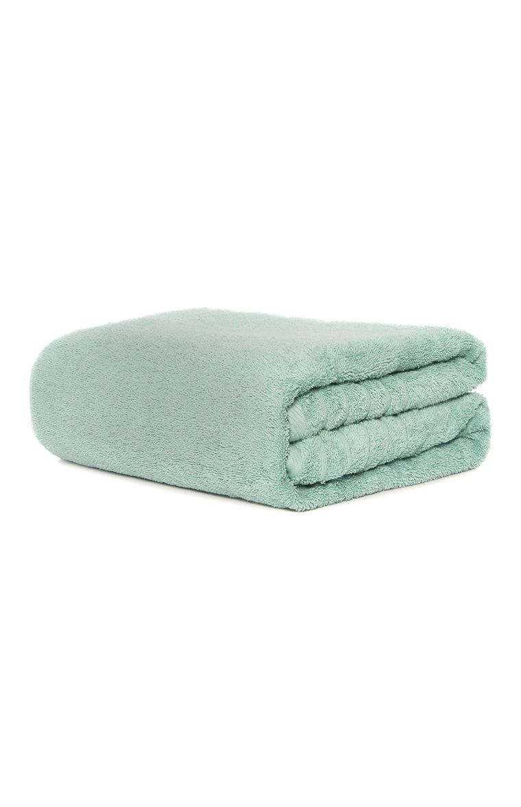 Primark Aqua Bath Towel Bath Towels Towel Bath