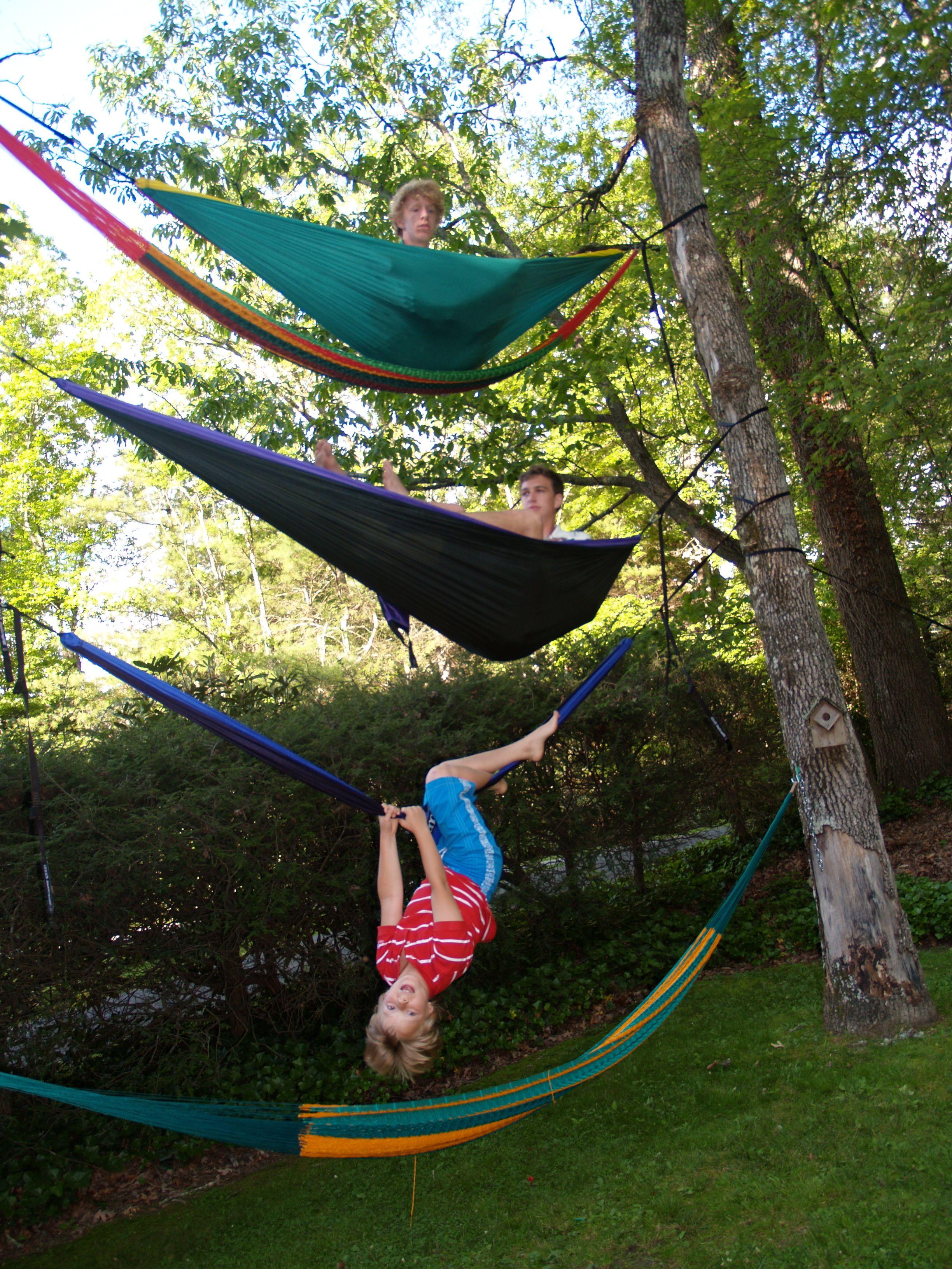 5 hammocks | Hanging hammock, Hammock, Outdoor decor