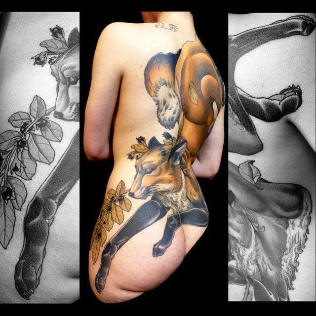 #Tattoo of the day #Artist: Bjorn Liebner Location: #Berlin, #Germany Artist's IG: @bjornliebner