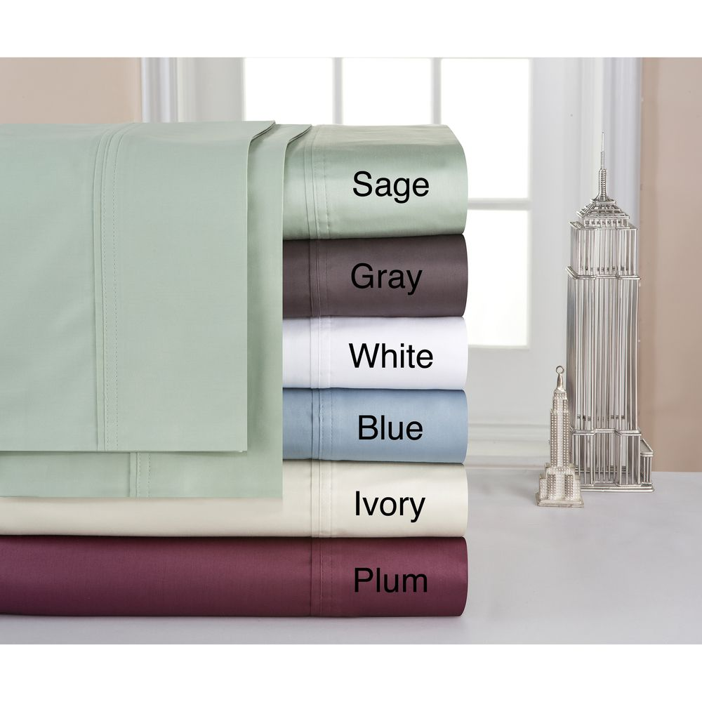 Pima cotton extra deep pocket thread count sheet set count and