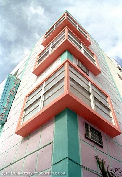 Art Deco Tour - Starlite Hotel Florida. South Beach!