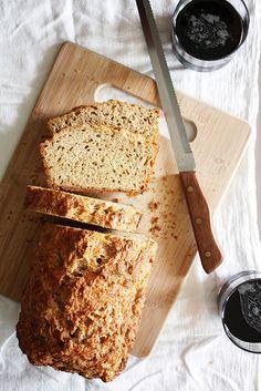 gruyere-rosemary beer bread from @Stephanie Wise   Girl Versus Dough