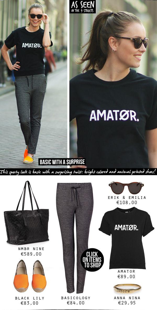 As seen in the 9 streets // AMATØR Hilde sweater short sleeve