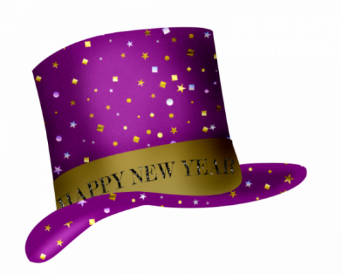 happy new year hat clip art