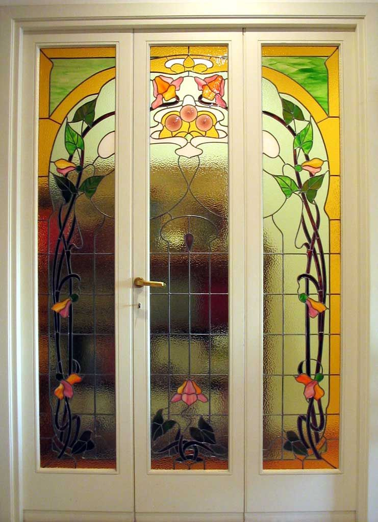 Disegni per vetri porte liberty cerca con google idee per la casa pinterest glass and - Finestre liberty ...