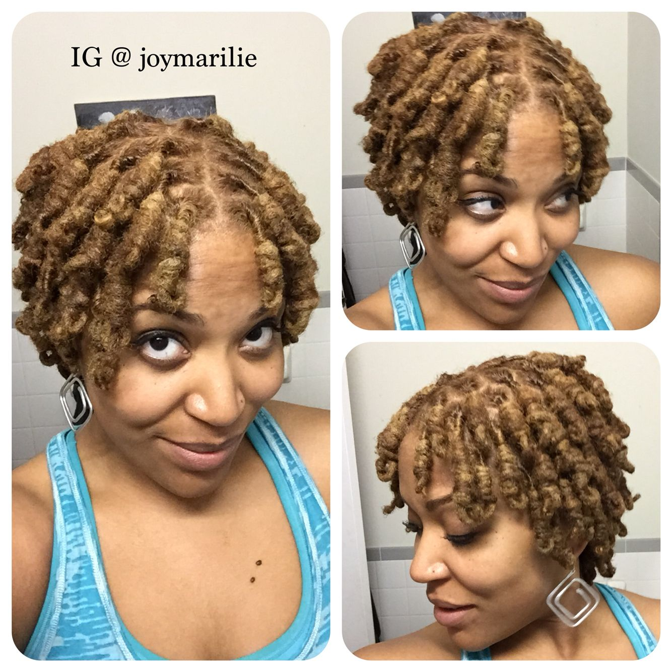 Loc knots | My Loc Styles and Experiments in 2019 | Hair ...