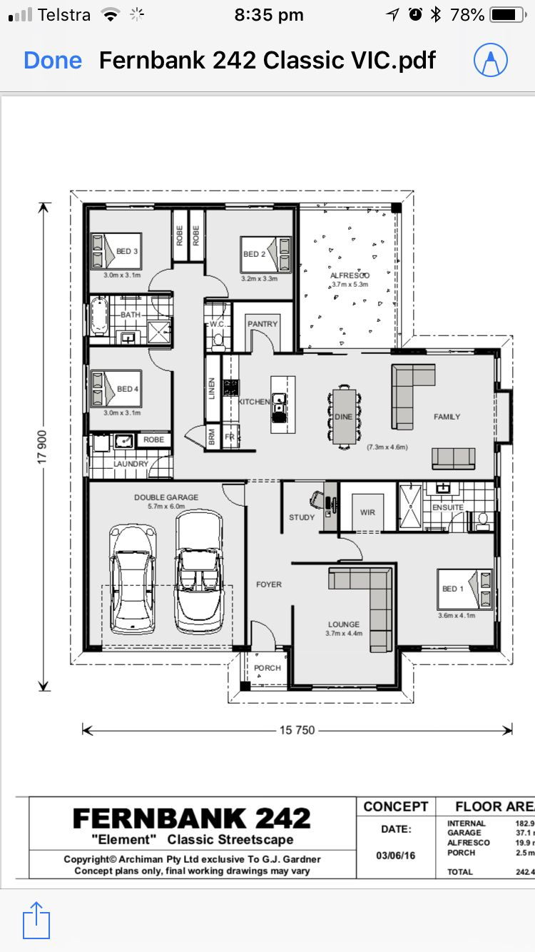 Pin By Rommel Villarino On Home House Floor Plans My House Plans How To Plan