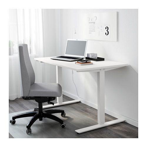 skarsta desk sit stand white client frame io office ikea table rh pinterest com