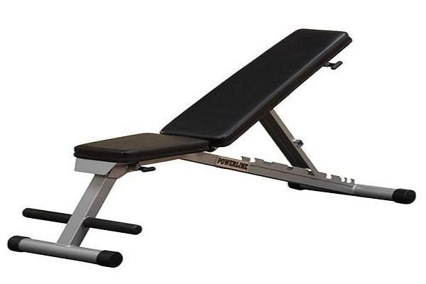 Body Solid Powerline Flat Incline Decline Folding Bench Adjustable Weight Bench Folding Bench Incline Decline Bench