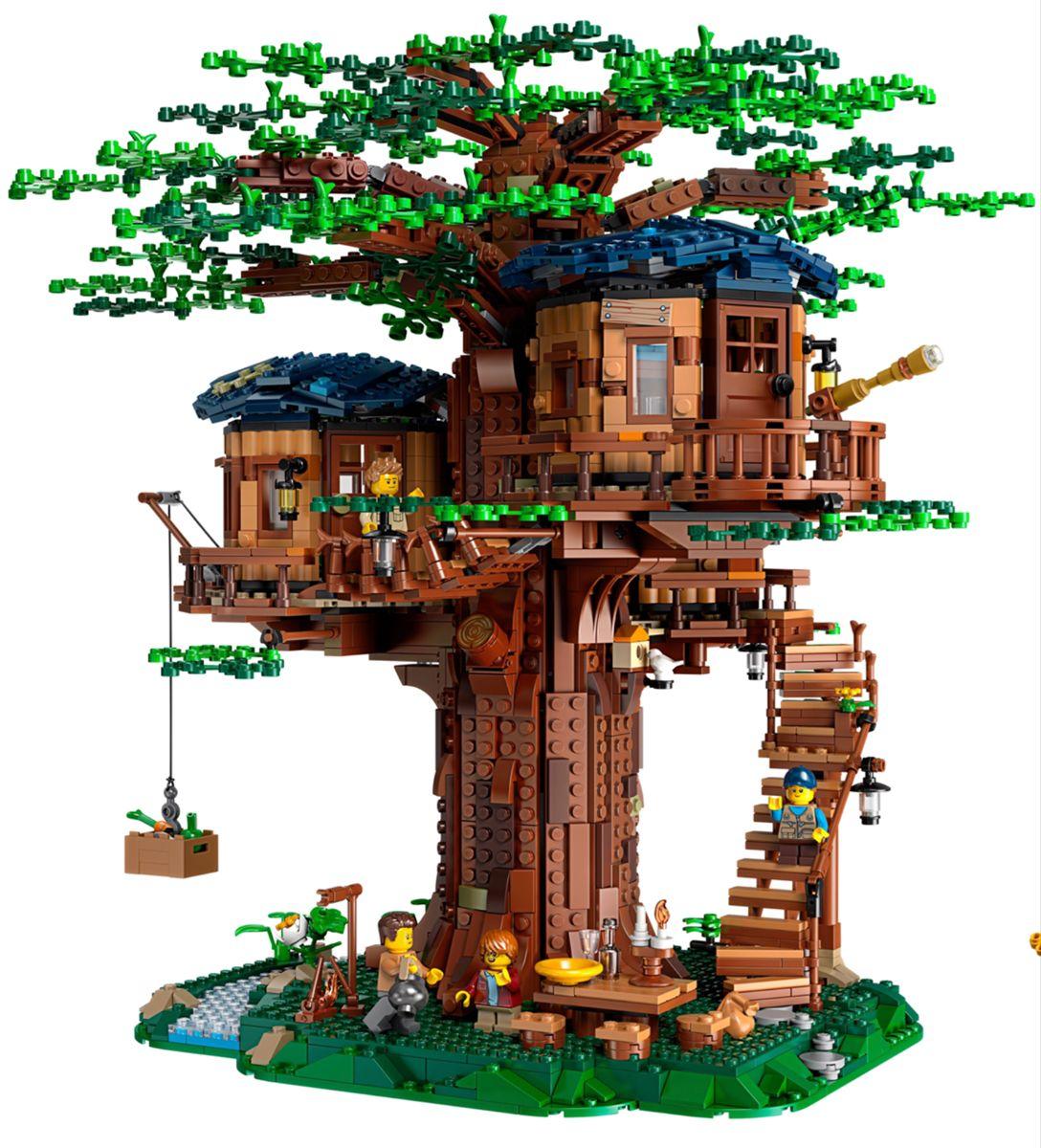 Pin By Heidi Hargreaves On Cutie Lego Tree House Tree House Lego Tree