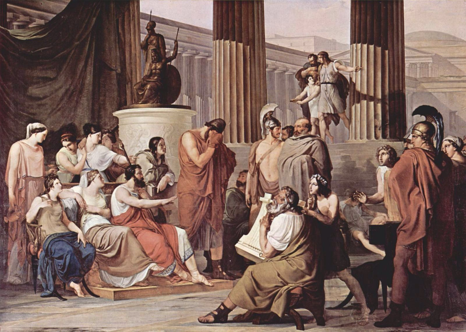 best images about trojan war heroes the heroes odysseus hearing about the trojan war