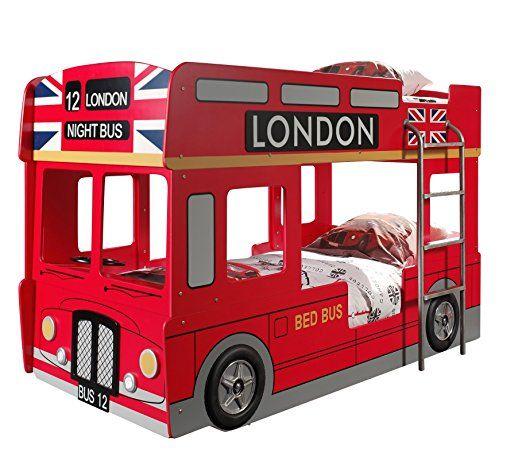 Kinderbett junge bus  Tolles Bett für zwei Kinder. Ein aussergewöhnliches Kinderbett für ...