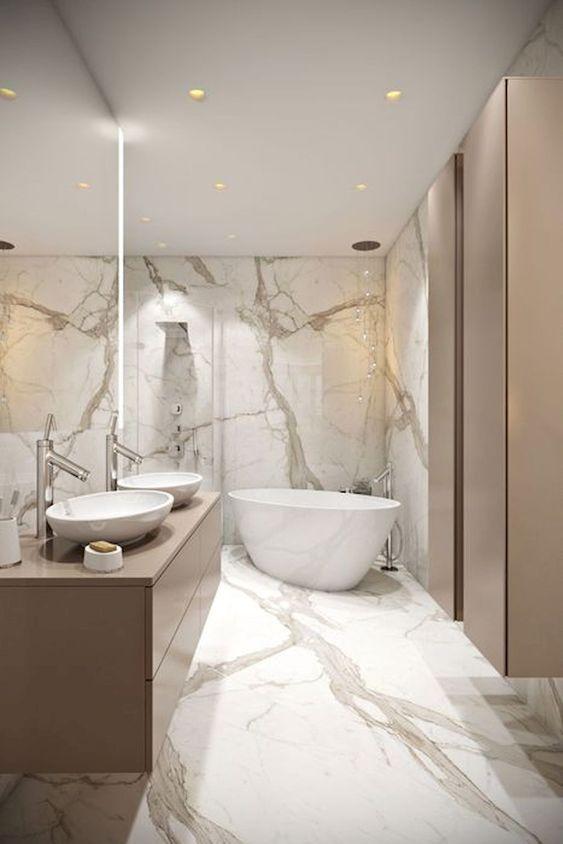 60 Moderne Badezimmer Design Ideen Zum Sich Zu In