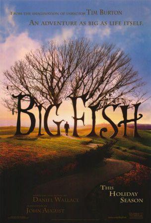 """Poster """"Big Fish"""""""