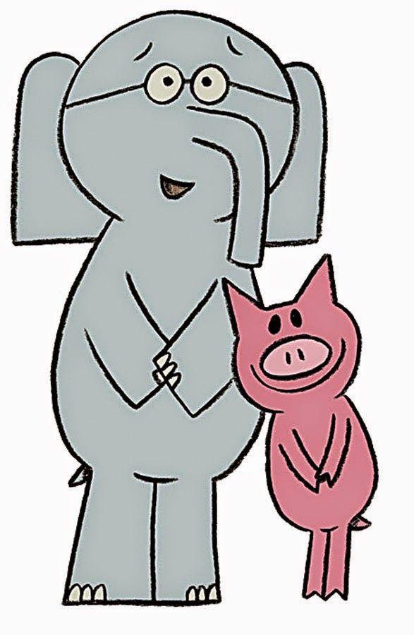 Elephant and Piggie | Travis 4th birthday | Pinterest | Lectura, La ...