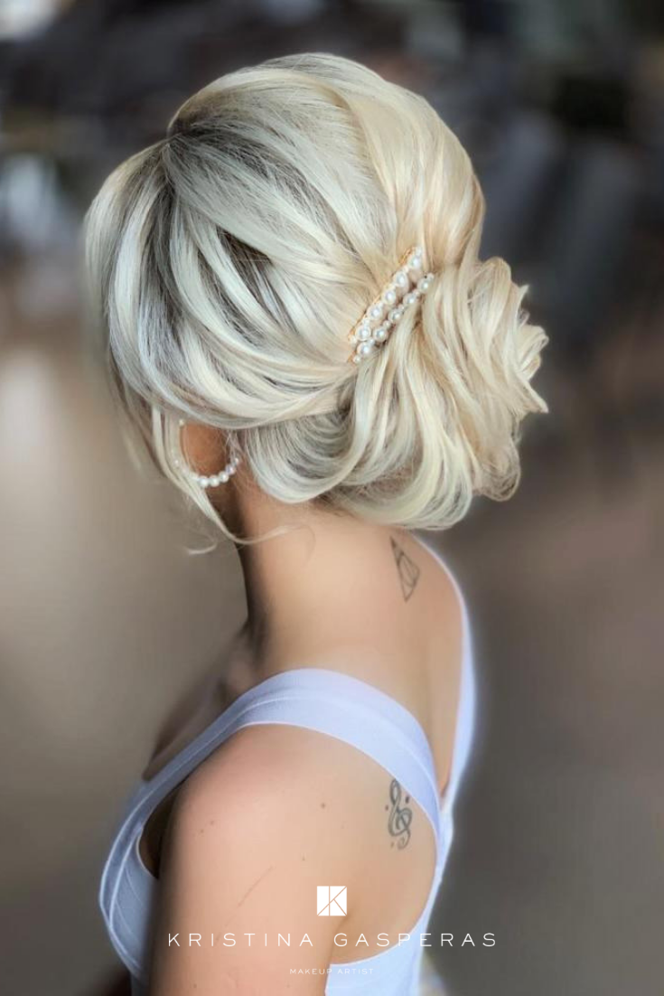 Learn How To Do The Most Popular Bridal Up Do S With London S Best Bridal Hair Stylist Kasia Fortuna Courses In 2020 Bride Hairstyles Hair Styles Wedding Hairstyles