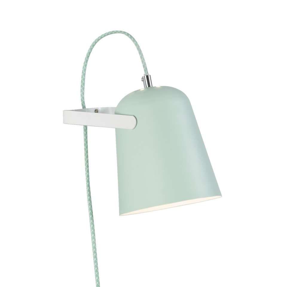 wandlamp pien - groen | leen bakker - slaapkamer cato | pinterest, Deco ideeën