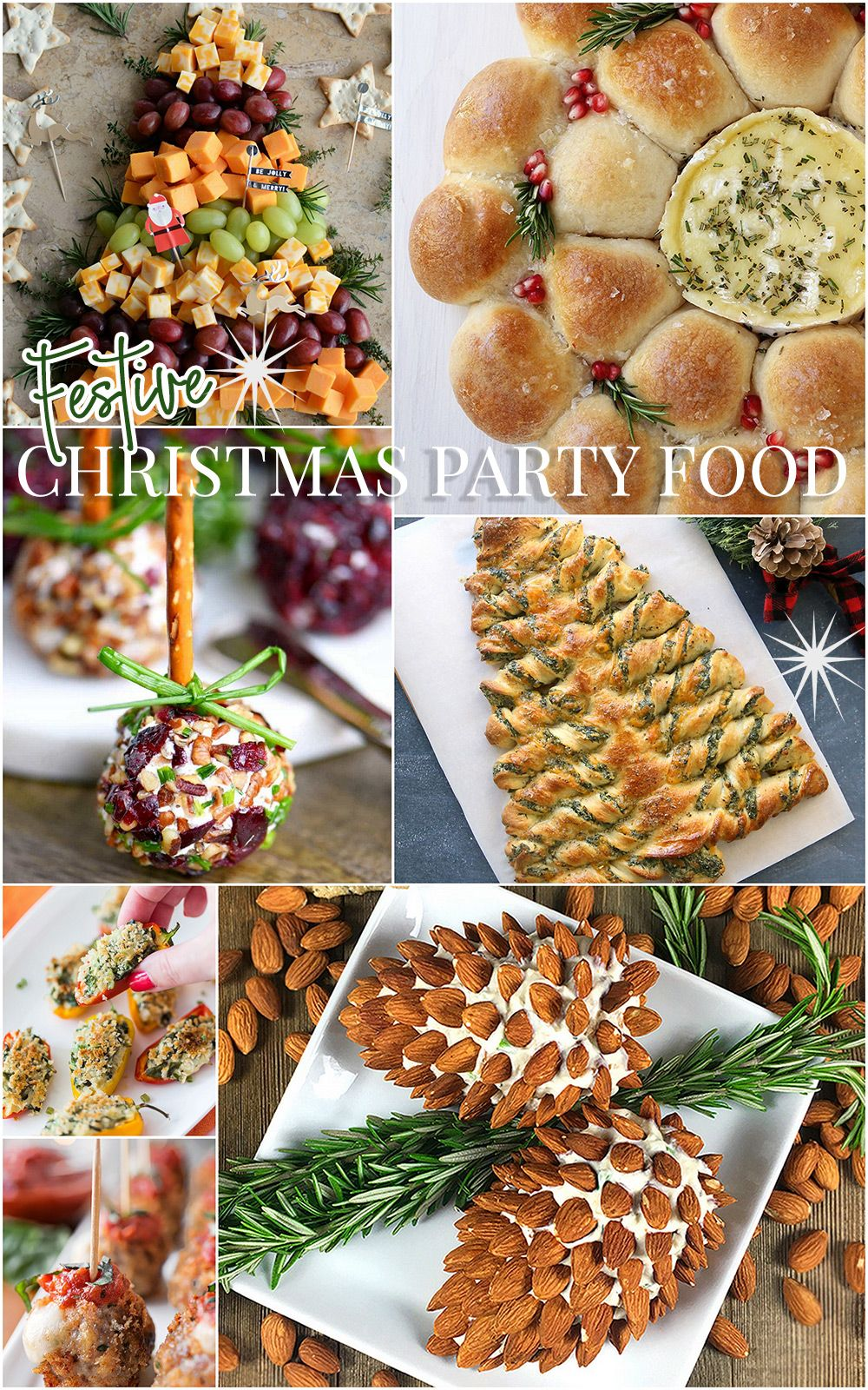 Christmas Party Food Ideas Christmas Party Food Christmas Luncheon Christmas Brunch