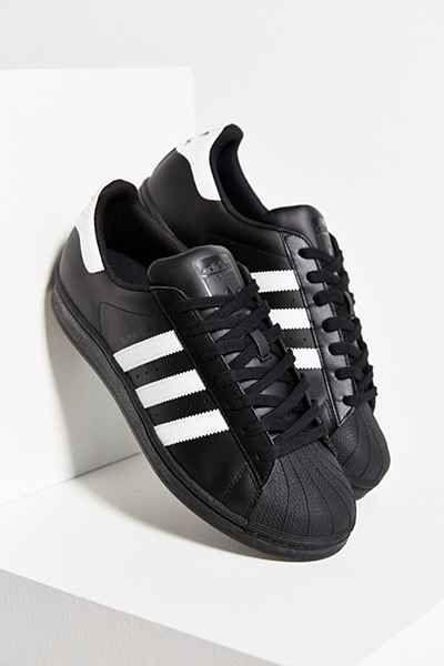Negro adidas superstar zapatilla cosas impresionantes, Adidas y urbano