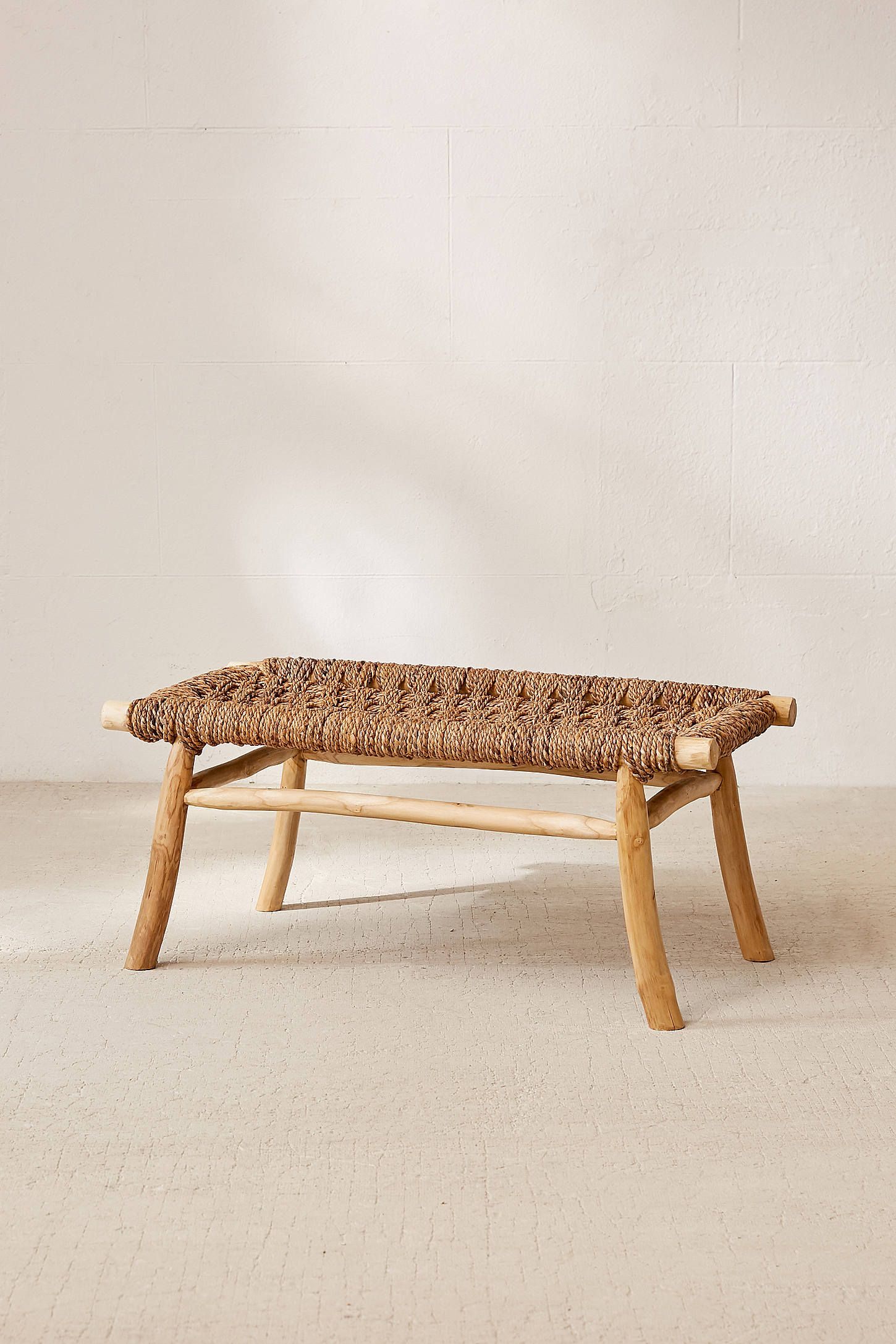 Elle Woven Bench Woven Bench Furniture Decor