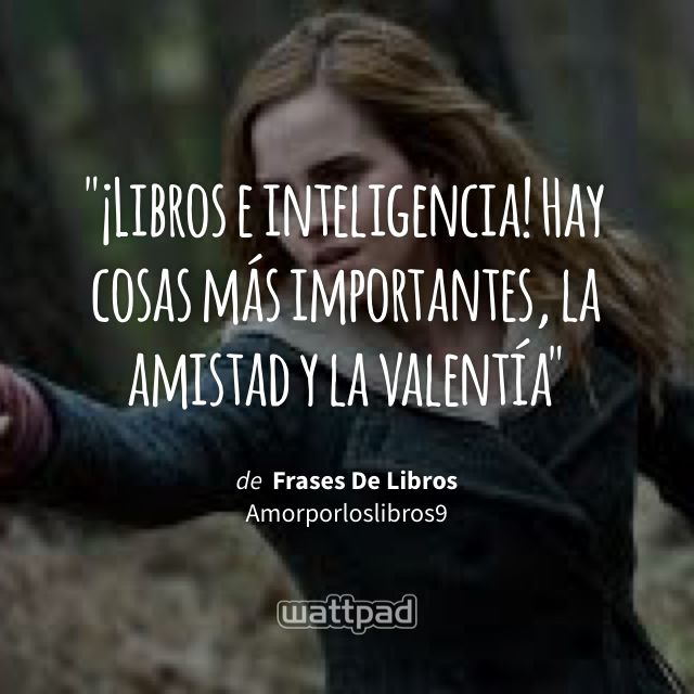 Frases De Libros Hermione Granger De Harry Potter Harry Potter