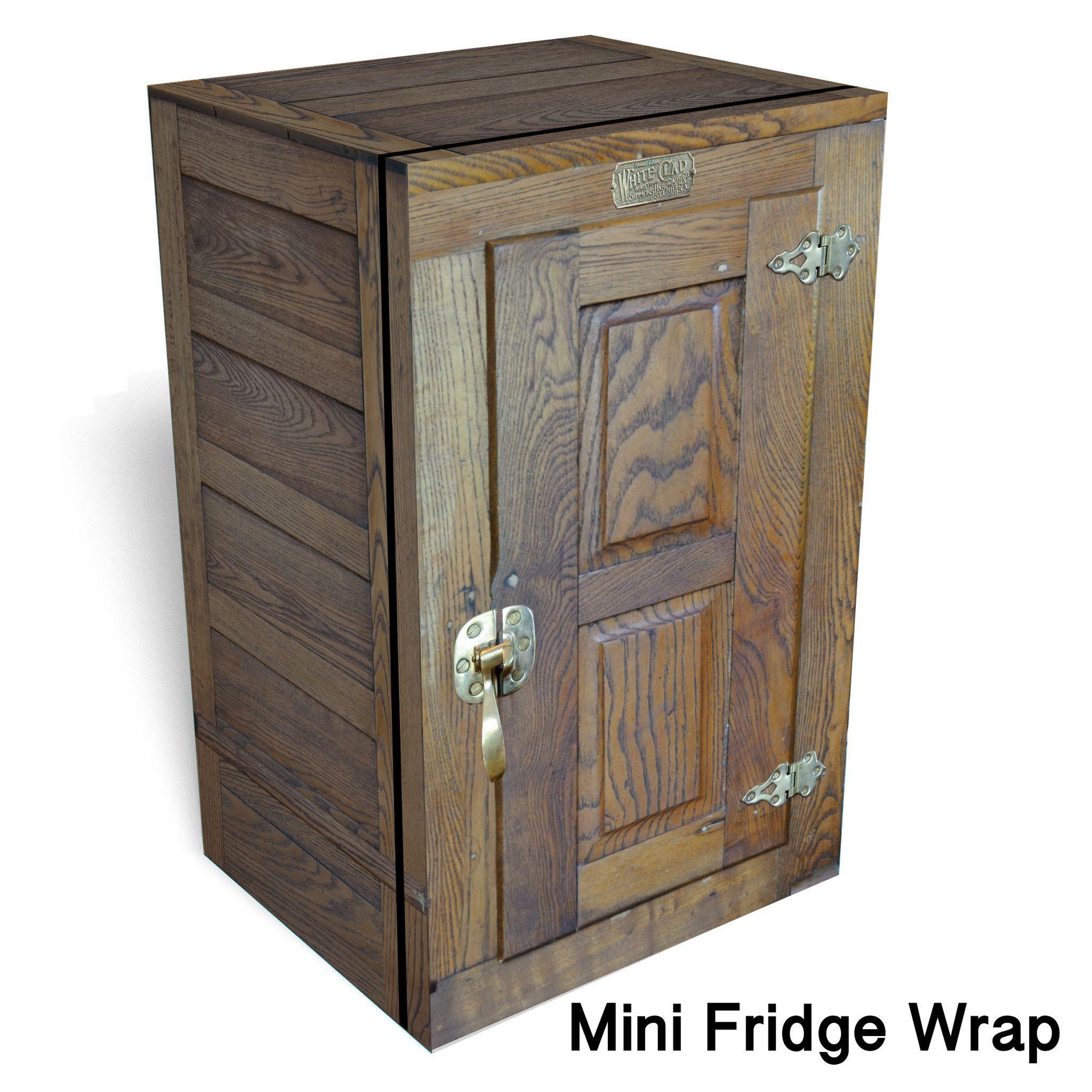 Icebox Mini Fridge Wrap Mini Fridge Mini Fridge Cabinet Fridge Makeover