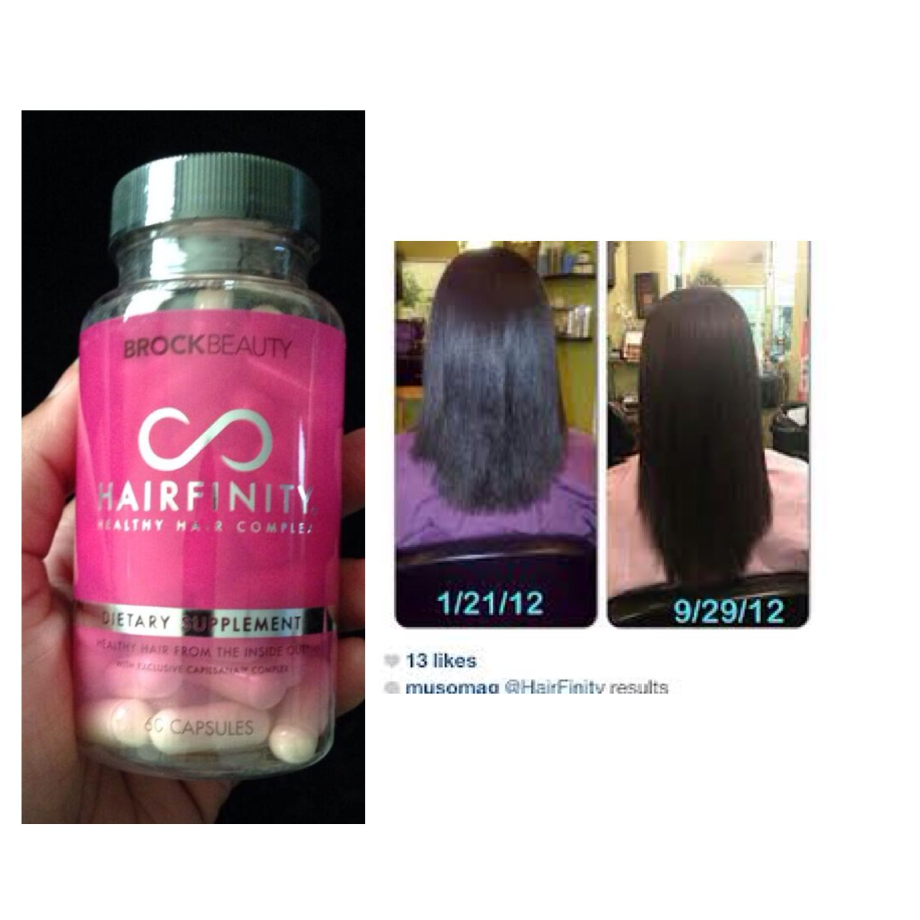 This ladys before after pics are amazing grow your hair longer hair lengths nvjuhfo Images