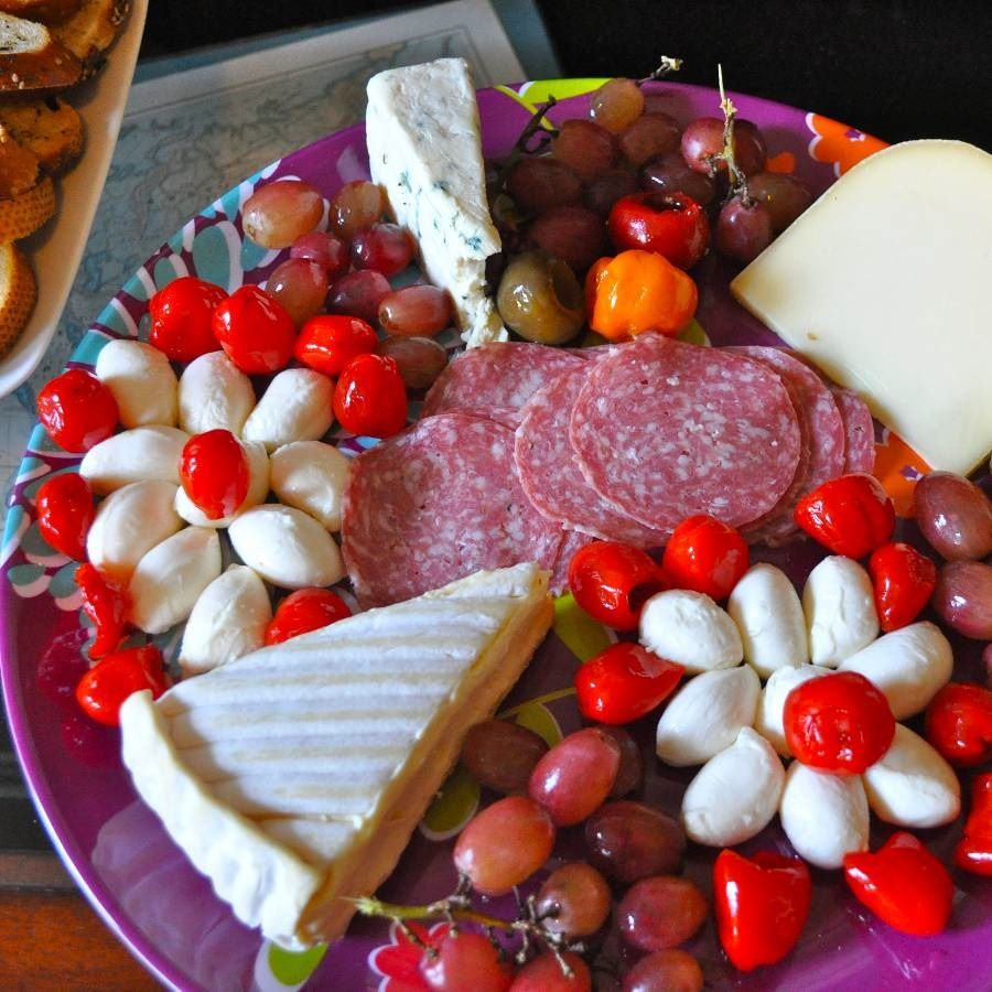 Salami cheese platter looks so good fruit and cakes pinterest