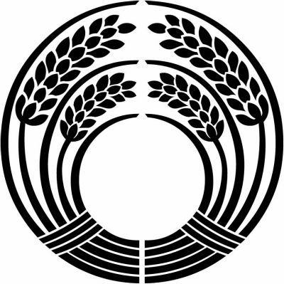 Inari Daki Ine Symbols Stone Painting Illustration Artwork