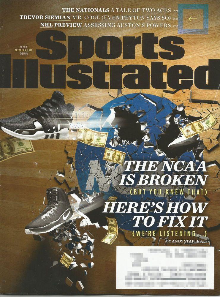 LAST CHANCE Sports Illustrated Oct 9, 2017 NCAA, Trevor