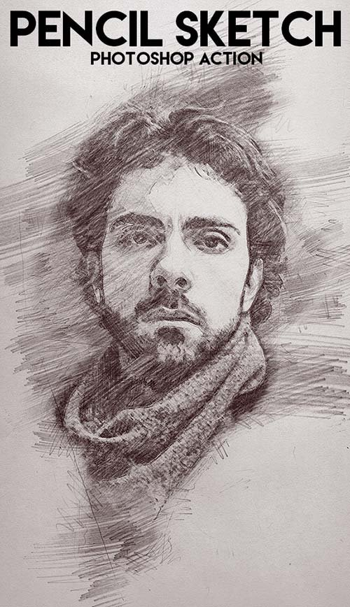Pencil Sketch Photoshop Action Download here: https