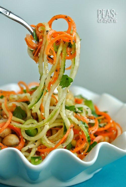 spaghetti salade maken