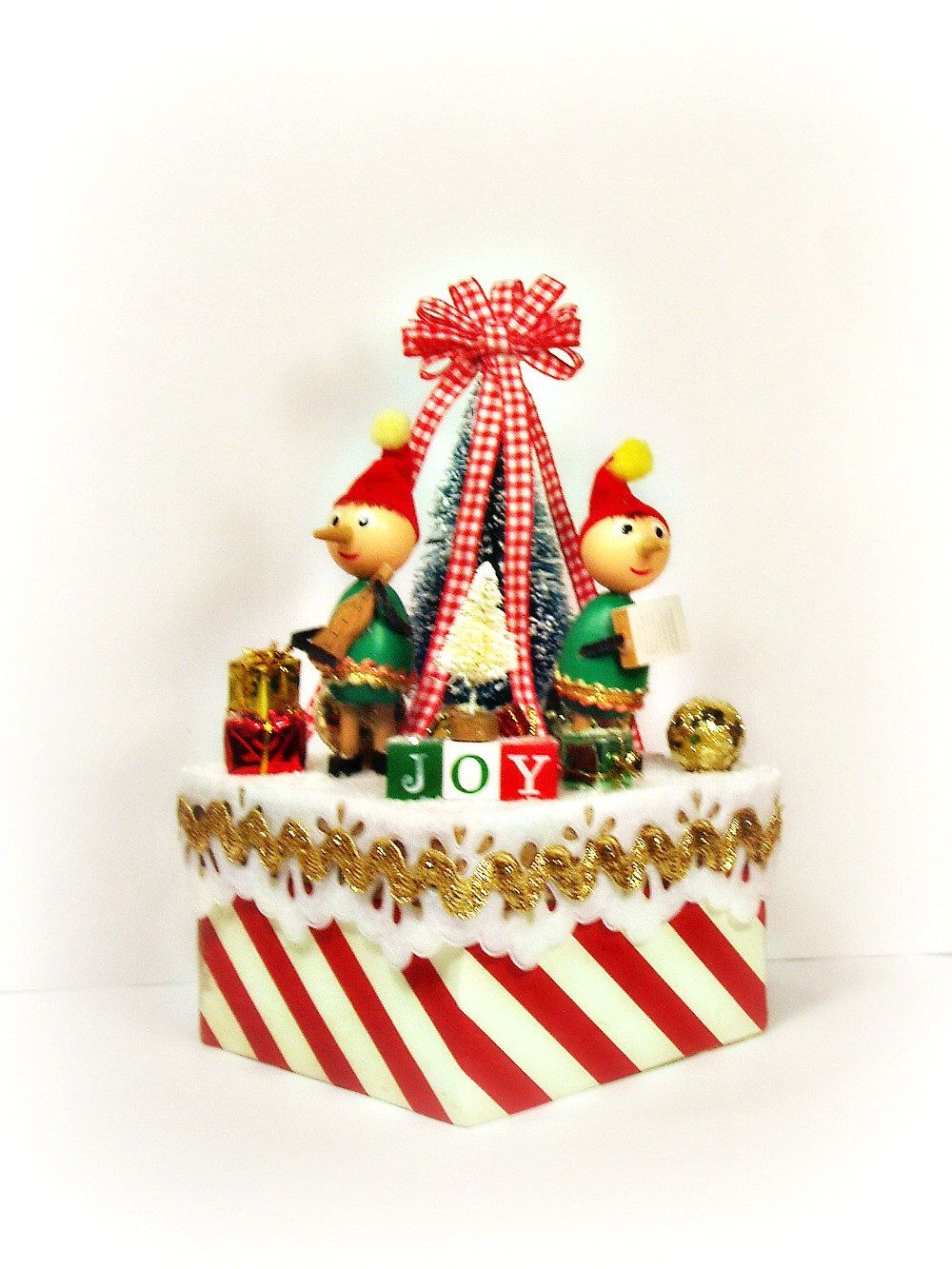 Christmas Tree Centerpieces