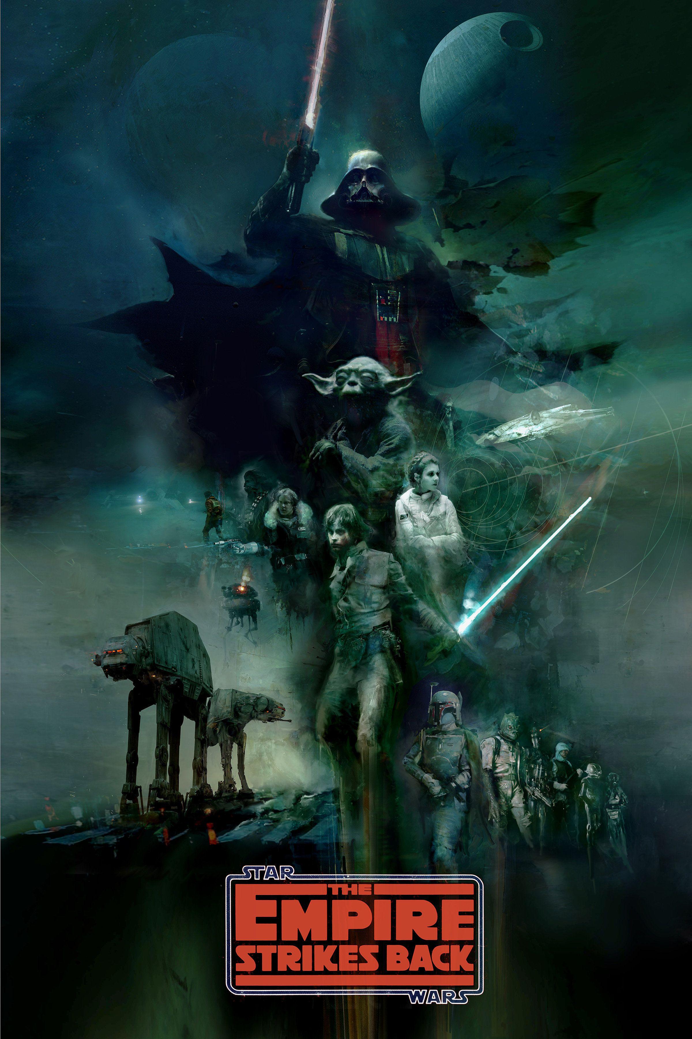 Empire christopher shy star wars poster star wars
