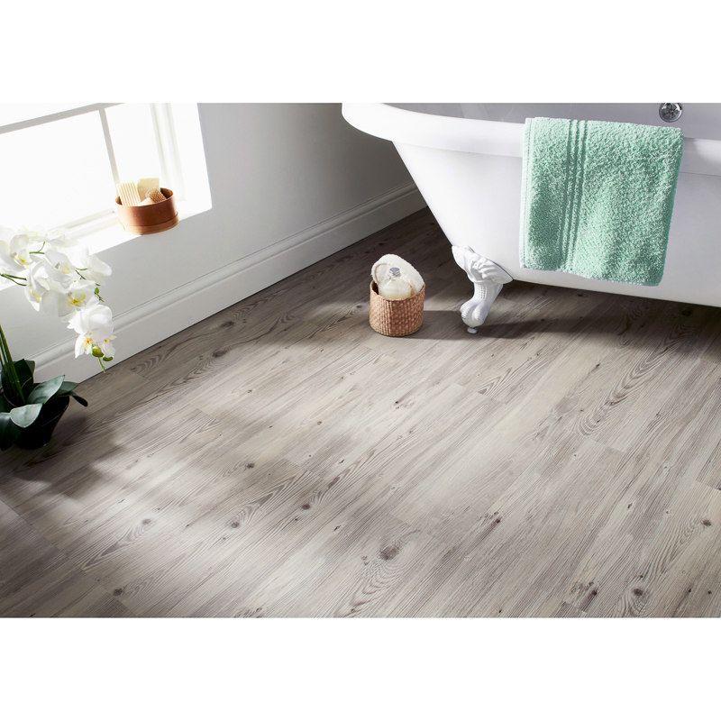 Self Adhesive Wood Effect Floor Planks Grey House Floor
