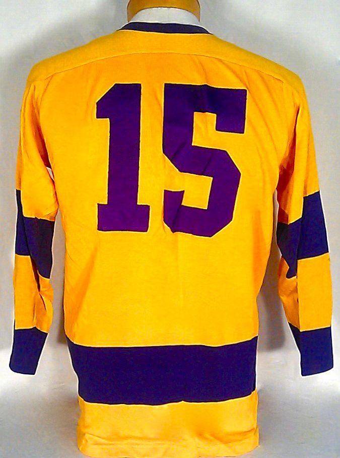 1940 S Vintage Hockey Jersey Back Ventures Vintage