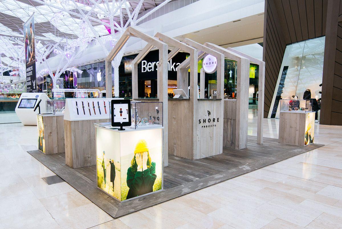 brand activation pop up Google Search Kiosk design