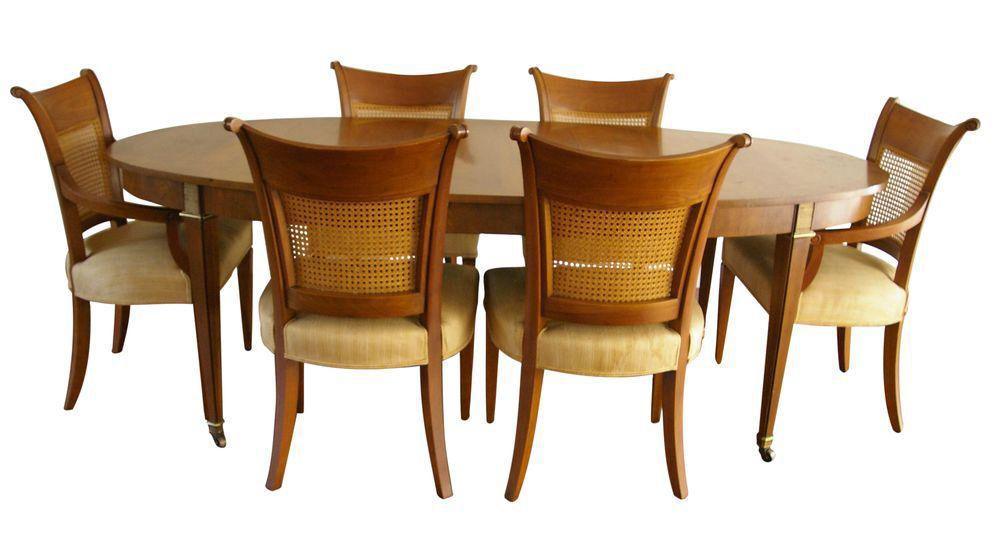 Baker Furniture Regency Dining Table On, Baker Used Furniture