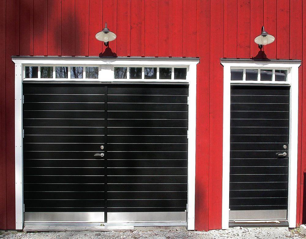 dörr till garage