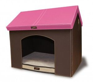 Doowaggle Portable Indoor Dog House Medium Pink 159 99 Http