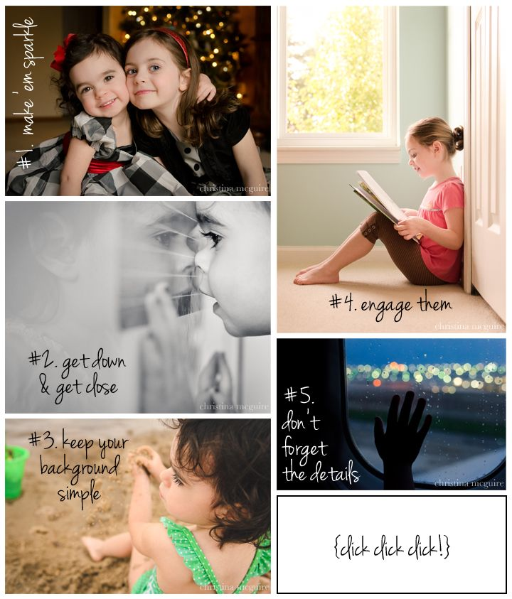 5 tips for photographing your own kids ©christina mcguire  {guest blogger for mariadismondy.com}